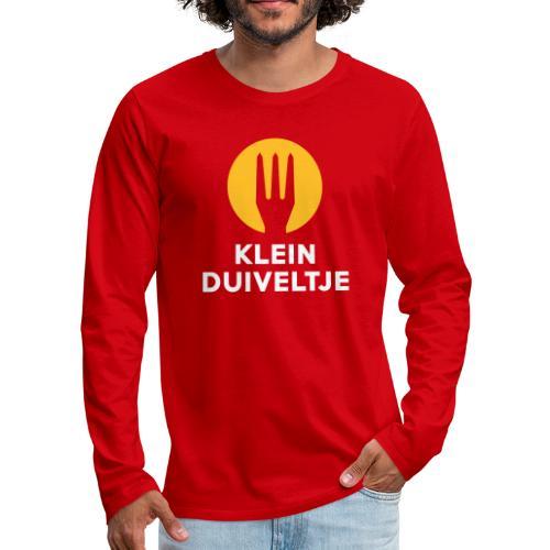 klein duiveltje - trident - T-shirt manches longues Premium Homme
