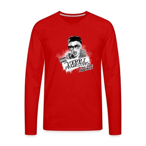 The Merry Pranksters Black Hoodie Unisex - Men's Premium Longsleeve Shirt