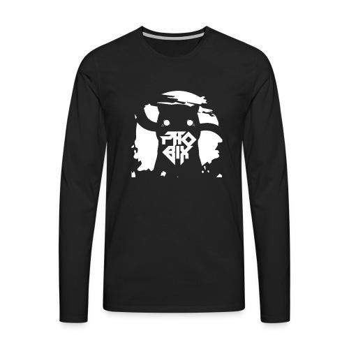 white 01big png - Männer Premium Langarmshirt
