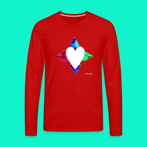4lof - Mannen Premium shirt met lange mouwen