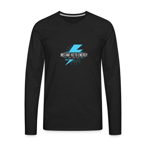 instantketoenergy - Männer Premium Langarmshirt