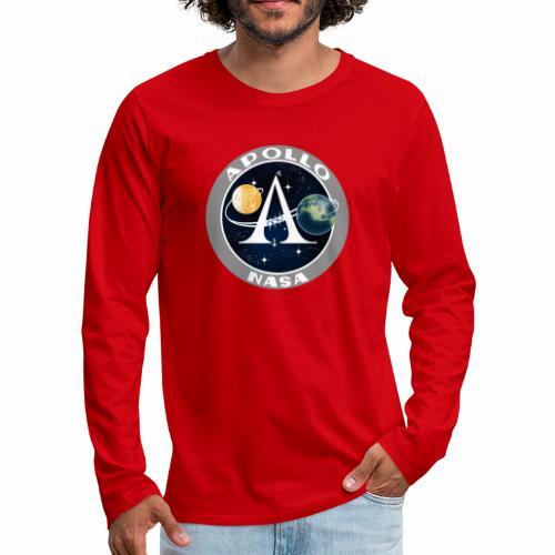 Mission spatiale Apollo - T-shirt manches longues Premium Homme