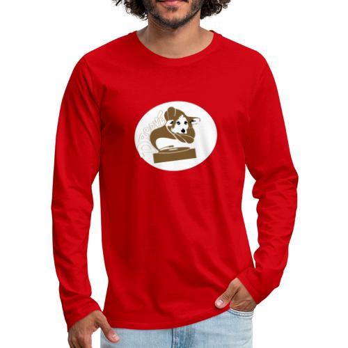 Droove logo - Mannen Premium shirt met lange mouwen