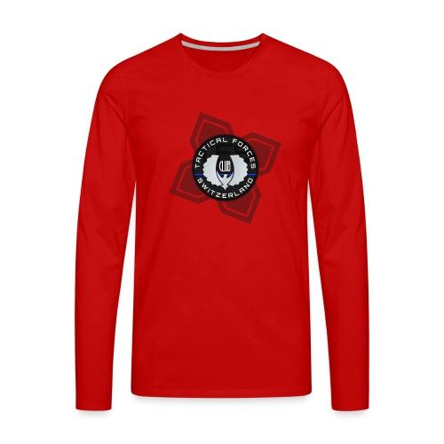 TFS Badge Black - T-shirt manches longues Premium Homme