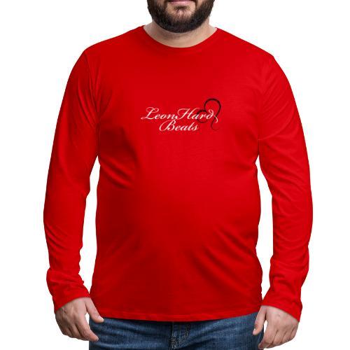 Leonhardbeats 1 - Herre premium T-shirt med lange ærmer