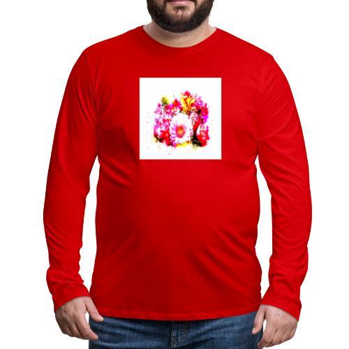 Shoppiful - Maglietta Premium a manica lunga da uomo