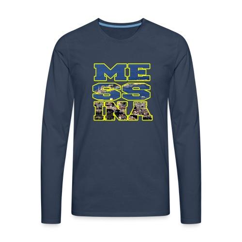 MESSINA YELLOW - Maglietta Premium a manica lunga da uomo