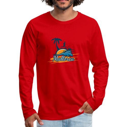 Joggen auf Mallorca - Sport - sportlich - Jogging - Männer Premium Langarmshirt