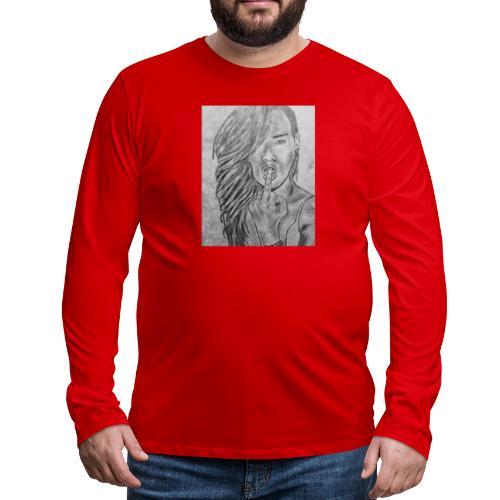 Jyrks_kunstdesign - Herre premium T-shirt med lange ærmer