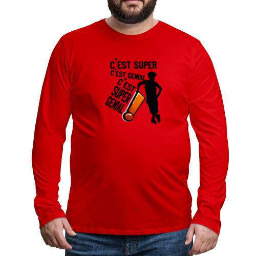 131026844 223807602593613 5416264293874080521 n - T-shirt manches longues Premium Homme