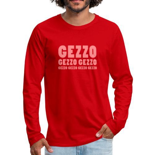 gezzo - Männer Premium Langarmshirt