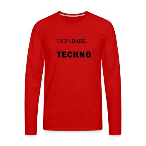 Charlotte De Witte - Miesten premium pitkähihainen t-paita