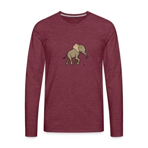 African elephant - Men's Premium Longsleeve Shirt