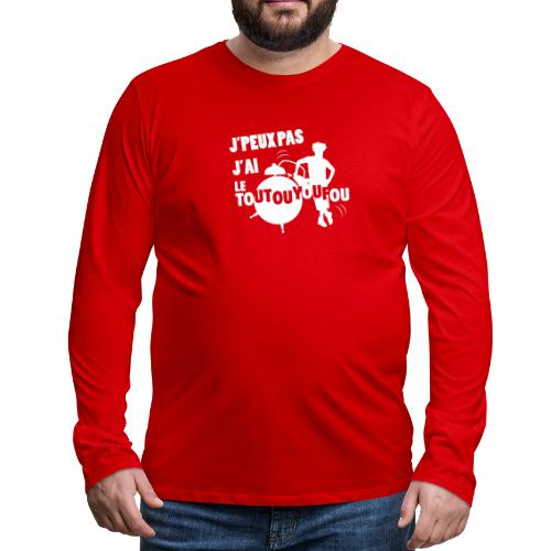 JPEUXPAS BLANC - T-shirt manches longues Premium Homme