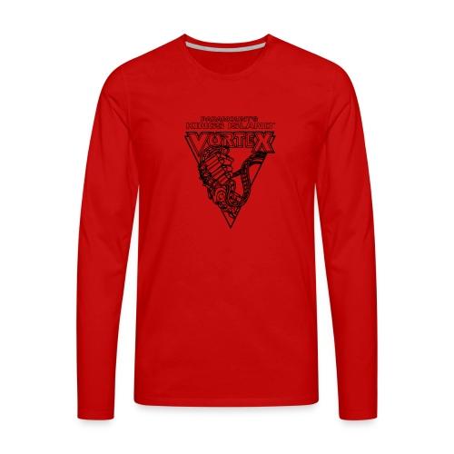 Vortex 1987 2019 Kings Island - Miesten premium pitkähihainen t-paita