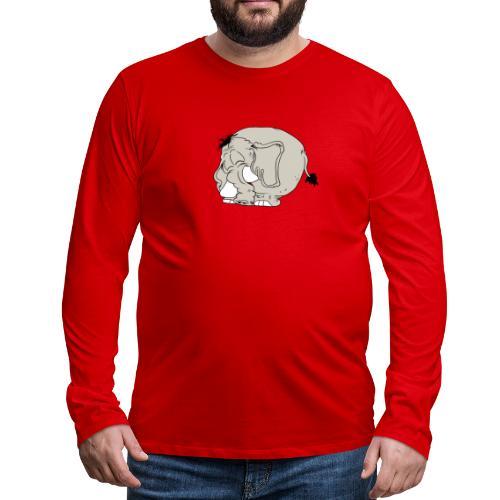 Blygofant - Långärmad premium-T-shirt herr