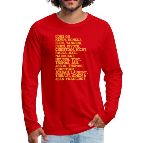 duivelse voornamen - T-shirt manches longues Premium Homme