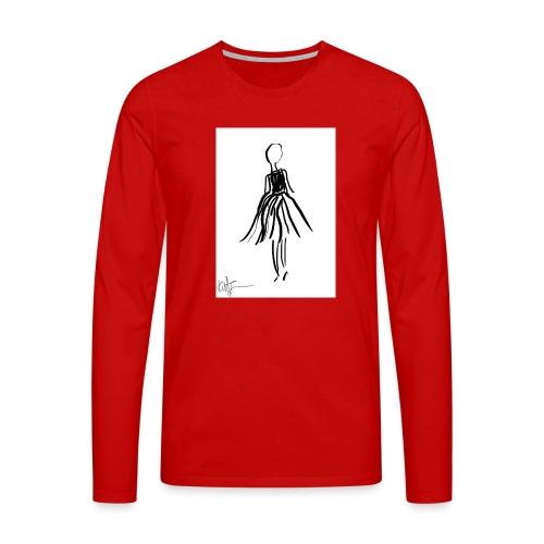 Lady - Men's Premium Longsleeve Shirt