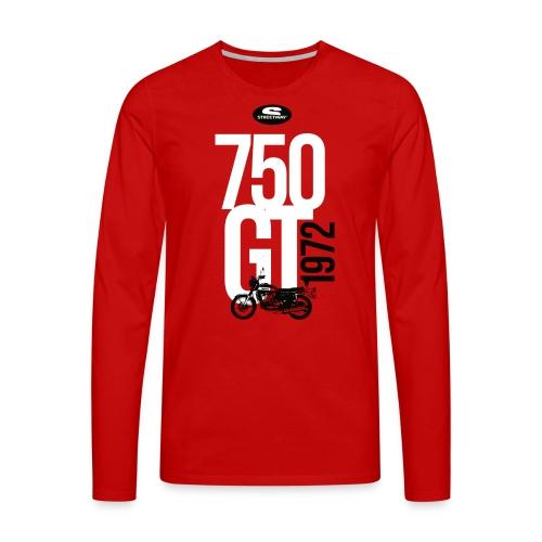 M120 - T-shirt manches longues Premium Homme