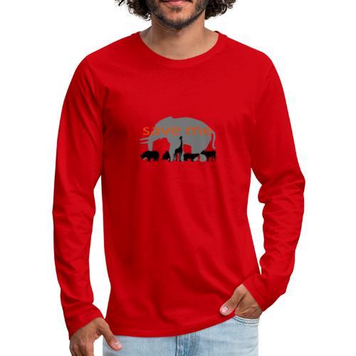Animaux - T-shirt manches longues Premium Homme