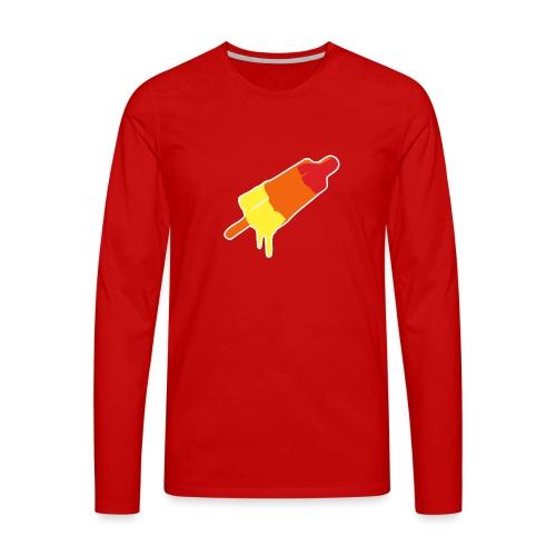 Raket - Mannen Premium shirt met lange mouwen