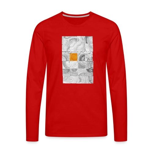 Cubes de Bois - T-shirt manches longues Premium Homme