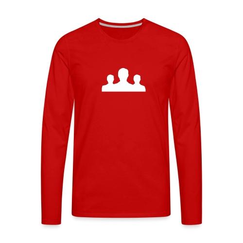 Ontmaskerd Shirt - Mannen Premium shirt met lange mouwen