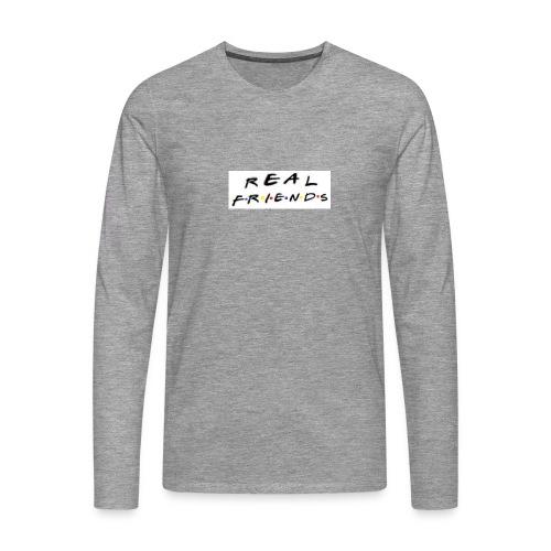 Real freinds - Herre premium T-shirt med lange ærmer