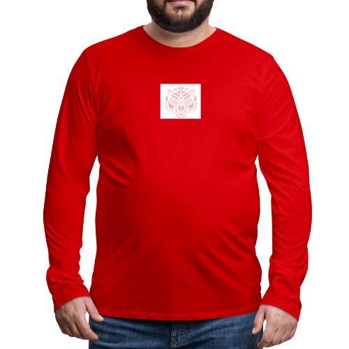 Tiger fra jungle - Herre premium T-shirt med lange ærmer