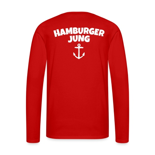 Hamburger Jung aus Hamburg - Männer Premium Langarmshirt