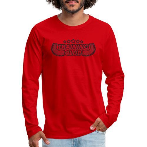 Training Club - Herre premium T-shirt med lange ærmer
