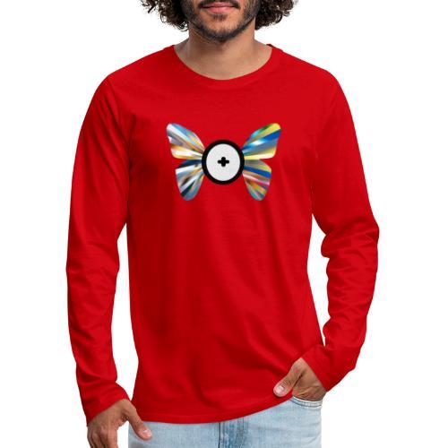 Butterfly Trans-Evolution - Maglietta Premium a manica lunga da uomo
