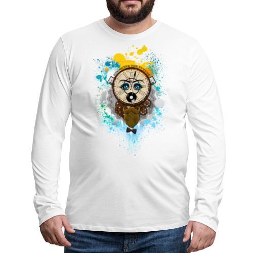 Remember the futur Souviens toi du futur - T-shirt manches longues Premium Homme