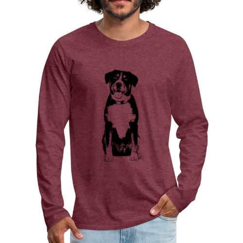 Entlebucher Sennenhund Hunde Design Geschenkidee - Männer Premium Langarmshirt