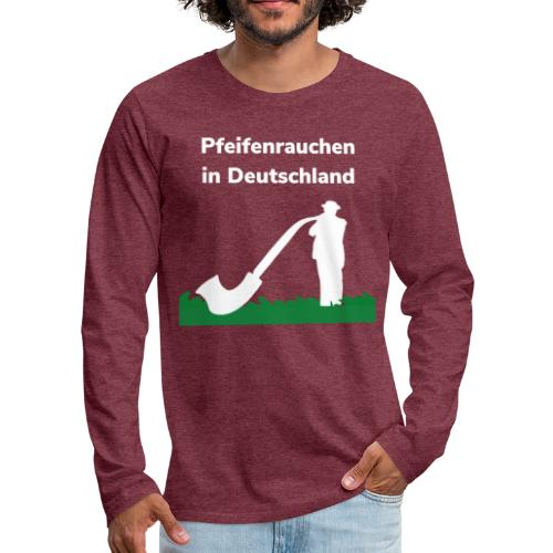 Pfeiferauchen - Maglietta Premium a manica lunga da uomo