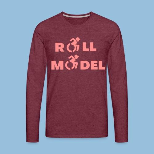RollModel5 - Mannen Premium shirt met lange mouwen
