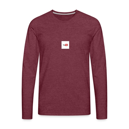 youtube beertje - Mannen Premium shirt met lange mouwen