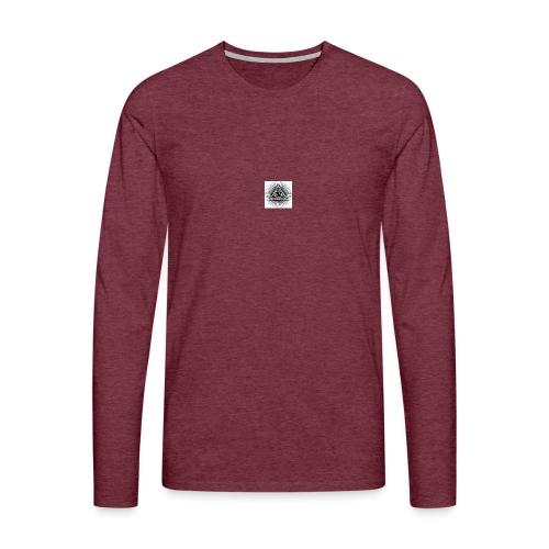 all-seeing-eye-provide - Miesten premium pitkähihainen t-paita