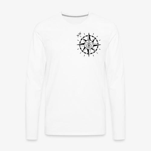 Nordwest - Miesten premium pitkähihainen t-paita
