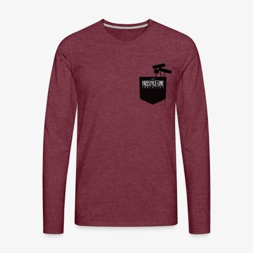 Shaper Pocket - Männer Premium Langarmshirt