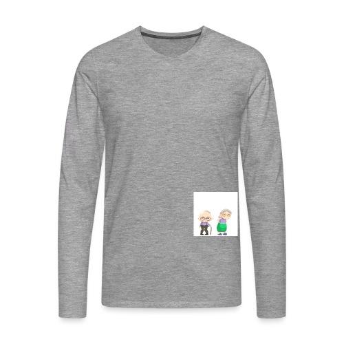 Grow old with me - Männer Premium Langarmshirt
