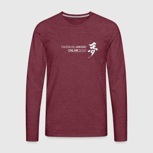 Takemusu Aikido Online Dojo - Yume White - Men's Premium Longsleeve Shirt