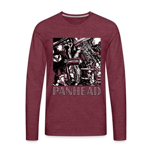 Panhead motordetail 01 - Mannen Premium shirt met lange mouwen