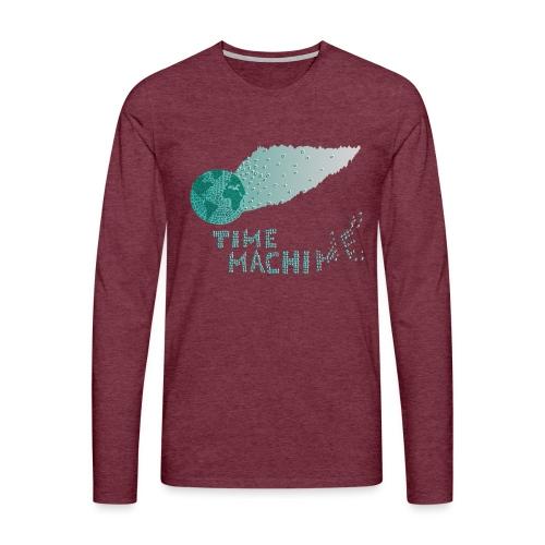 Time Machine - Männer Premium Langarmshirt