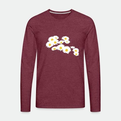 Spring Season Daisies - Men's Premium Longsleeve Shirt