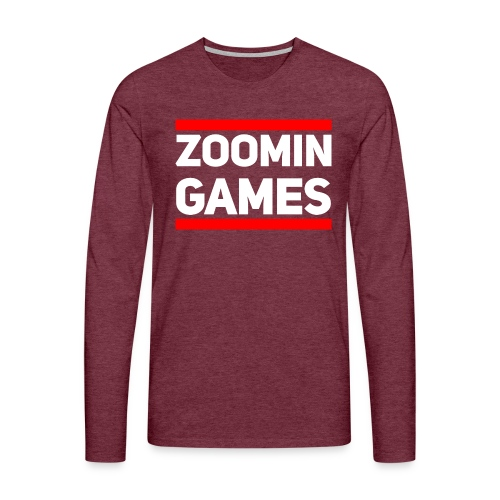 9815 2CRun ZG White - Men's Premium Longsleeve Shirt