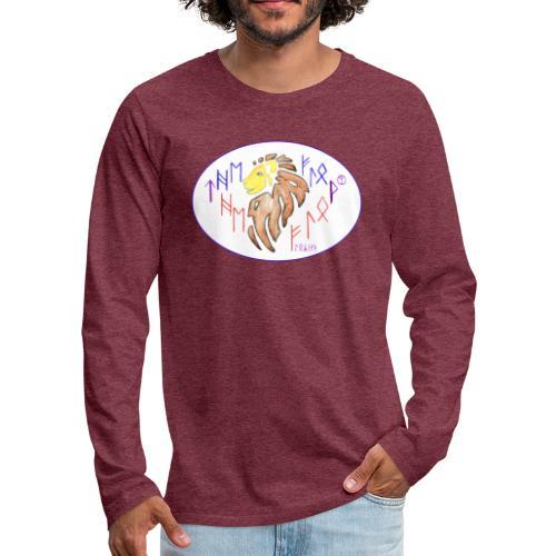 Lions flow - Männer Premium Langarmshirt