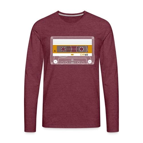 Cassette CHF - Men's Premium Longsleeve Shirt