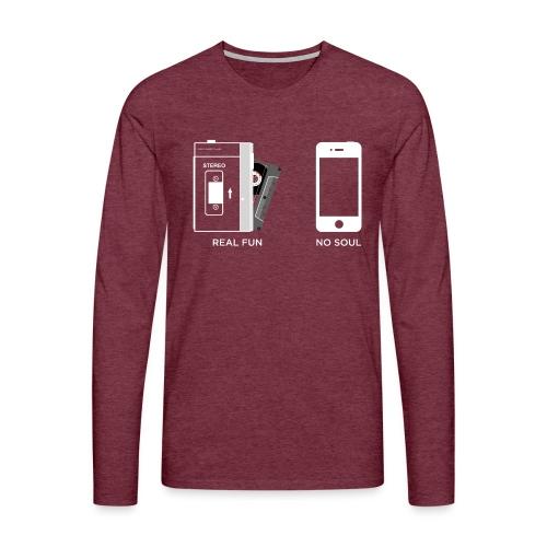 Real fun & No soul - WA - Men's Premium Longsleeve Shirt