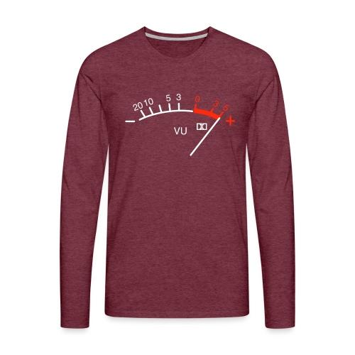 VU Simple Meter - Men's Premium Longsleeve Shirt